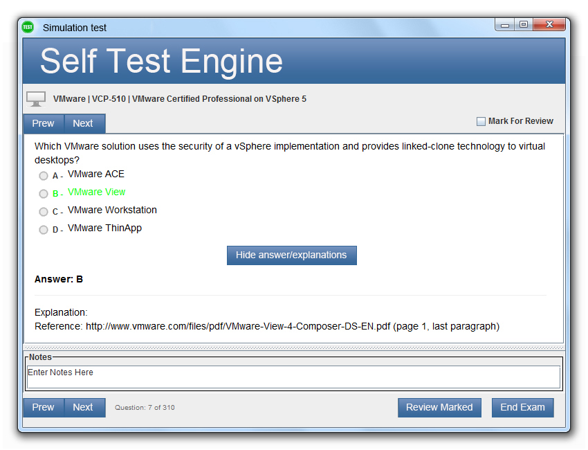 1Z0-934 Desktop Test Engine